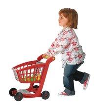 Obchody pre deti - Zeleninový stánok 100% Chef Écoiffier s pokladňou, nákupným vozíkom a 65 doplnkami od 18 mes_9
