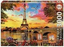 Puzzle Sunset in Paris Educa 3000 delov od 11 leta