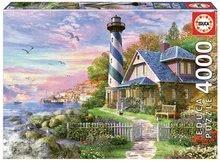 Puzzle Lighthouse at Rock Bay Educa 4000 darabos 11 évtől