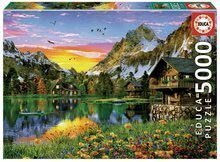 Puzzle Alpine lake Educa 5000 dielov EDU17678