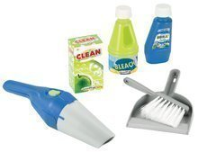 Úklidová souprava pro děti Clean Home Écoiffier 6 dílů modro-zelená