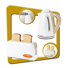Produse vechi - Bucătărie electronică French Touch Tefal Excellence Smoby bordou-galben cu apă curgătoare_6