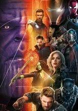 Puzzle Avengers: Infinity War Educa 500 dielov a Fix lepidlo od 11 rokov