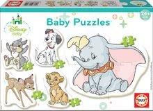 Puzzle legkisebbeknek Baby 5 Disney Állatkák Educa 24 hó kortól