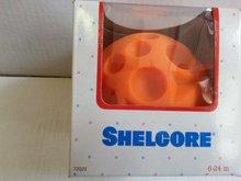 SHELCORE 72023 oranžová míč s reliéfním vzorem