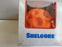 Vývoj motoriky - Oranžová lopta s reliéfovým vzorom Shelcore _0