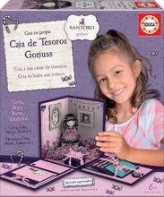 Tajemství dívek Santoro London Gorjuss Educa pro šikulky od 6 let