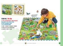 Pěnové puzzle - LEE TM006  Puzzle Adventure Land - safar