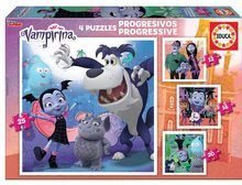 Puzzle Vampirina 4in1 Educa 12-16-20-25 darabos, progresszív