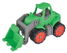 Detský traktor Power BIG dĺžka 23 cm od 2 rokov zelený