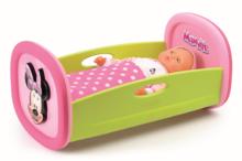 Staré položky - Set kočík Minnie pre bábiku Smoby hlboký (58 cm rúčka), kolíska s perinkou a bábika so šatôčkami 32 cm od 18 mes_6