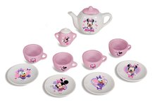 Riadíky a doplnky kuchynky - Čajová súprava Minnie Smoby porcelánová s 12 doplnkami_2