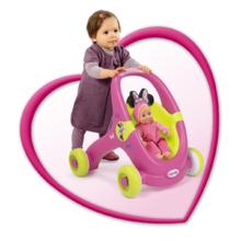 Staré položky - Chodítko a kočiarik pre bábiku 2v1 Minnie Smoby od 12 mes_5