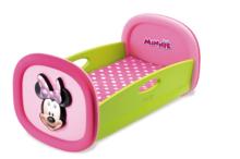 Staré položky - Set kočík Minnie pre bábiku Smoby hlboký (58 cm rúčka), kolíska s perinkou a bábika so šatôčkami 32 cm od 18 mes_4