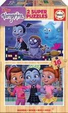 Fa puzzle Vampirina Educa 2x16 darabos