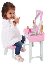 Kozmetična mizica za otroke - Kozmetična mizica s stolčkom My Very First Beauty Table Ecoiffier s sušilnikom za lase in 11 dodatki od 18 mes_1