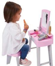 Kozmetična mizica za otroke - Kozmetična mizica s stolčkom My Very First Beauty Table Ecoiffier s sušilnikom za lase in 11 dodatki od 18 mes_2