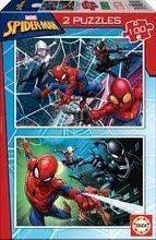 Puzzle pre deti Spiderman Educa 2x100 dielov od 6 rokov