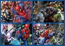 Progresivní dětské puzzle - Puzzle Multi 4 Spiderman Educa 50-80-100-150 dílků od 5 let_0