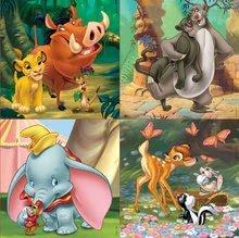 Progresivne dječje puzzle - Puzzle Kralj lavova Disney Progressive Educa 12-16-20-25 dijelova_0