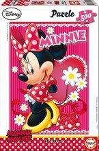 EDUCA 15189 PUZZLE 500 dielov Disney Family Minnie + FIX PUZZLE LEPIDLO
