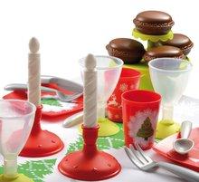 Kuchynky pre deti sety - Set kuchynka Tefal French Touch Bublinky Smoby s magickým bublaním a obedový set so sviečkami_10