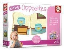 Oktatójáték legkisebbeknek Baby Opposites Educa Keressük az ellentéteket 24 hótól EDU18122