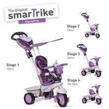 smarTrike 1590700 lila-szürke tricikli Dream Team Purple Touch Steering 4in110 hó-tól