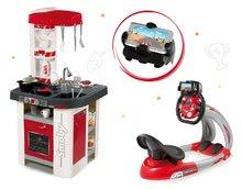 Set dětská kuchyňka Tefal Studio Smoby se zvuky a elektronický trenažér V8 Driver