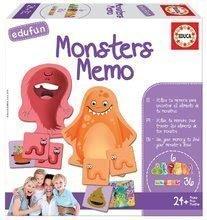 Spoločenská hra Monsters Educa v angličtine od 24 mes