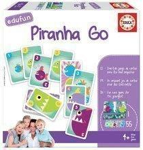 Spoločenská hra Piranhas Educa v angličtine od 4 rokov