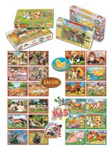 Otroške pravljične kocke - DOHANY 602-1 Rozprávkové kocky mix 12 ks