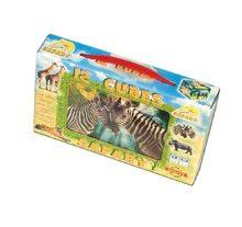 Rozprávkové kocky Safari Dohány 12 dielov