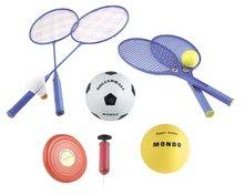 Futbal - Športový set hier Multisport 5v1 Mondo s pumpou od 5 rokov_6