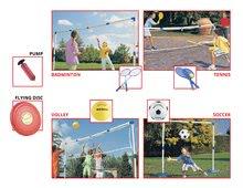 Športový set hier Multisport 5v1 Mondo s pumpou od 5 rokov