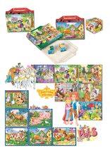 Pohádkové kostky - DOHANY 604-1 Veľké rozprávkové kocky mix