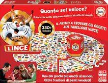 Spoločenská hra Lynx Rýchly ako rys Educa 350 obrázkov v taliančine od 6 rokov