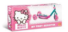 Kolobežky trojkolesové - Trojkolesová kolobežka Hello Kitty Mondo s taškou_1