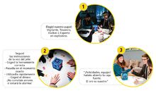 Cudzojazyčné spoločenské hry - Spoločenská hra Bank Attack Educa po španielsky od 7 rokov_1