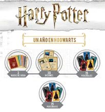 Cudzojazyčné spoločenské hry - Spoločenská hra Harry Potter Borras Educa pre 1-8 hráčov po španielsky od 7 rokov_1