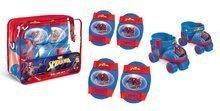 Patine cu rotile The Ultimate Spiderman Mondo cu echipament de protecţie mărimi 22-29