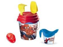 Fúriky do piesku - Fúrik s vedro setom Spiderman Mondo 5 dielov modro-červený od 18 mes_3