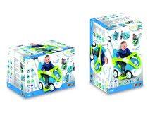 Staré položky - Odrážadlo Bubble Go II Smoby Balade so zvukom a medveďom modro - zelené od 6 mes_0