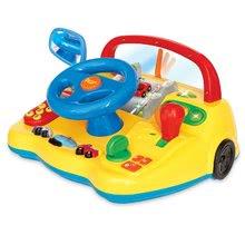 Hračky zvukové - Trenažér Activity Kiddieland s autíčkami so zvukom a svetlami žltý od 18 mes_0