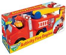 Hračky zvukové - Hasičské auto Activity Kiddieland s figurkou, se zvukem a světlem od 18 měsíců_1