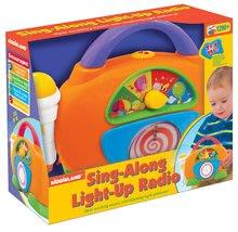 Hračky zvukové - Rádio Activity Spievaj si sám Kiddieland so svetlom a zvukom od 18 mes_0