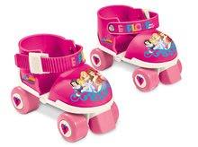 Patine cu rotile pentru copii - Role cu patru roţi Prințesele Mondo cu echipament de protecție, mărimi 22-29 roz_0