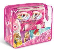 Patine cu rotile pentru copii - Role cu patru roţi Prințesele Mondo cu echipament de protecție, mărimi 22-29 roz_2