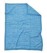 Pletená deka pro nejmenší Joy toTs-smarTrike 100% přírodní bavlna modrá
