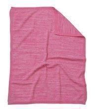 Pletená deka pre najmenších Joy toTs-smarTrike 100% prírodná bavlna ružová